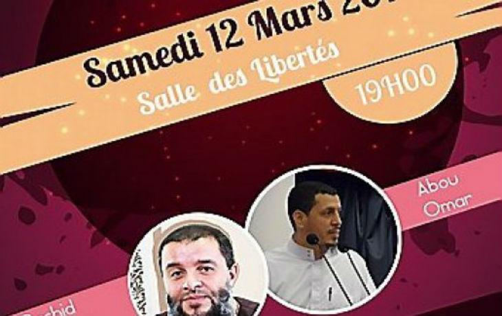 Perpignan : Le prédicateur salafiste Rachid Haddach fait salle comble