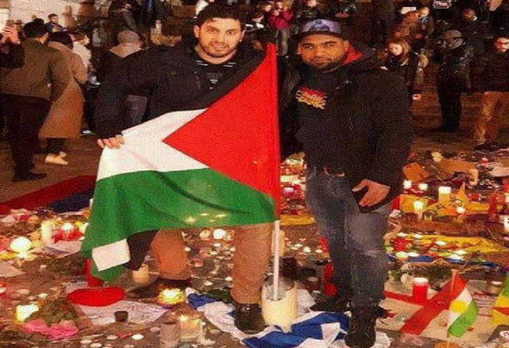 Place de la Bourse à Bruxelles : Condamnation des nationalistes, mais pas de condamnation des arabes qui expriment leur haine d'Israël…