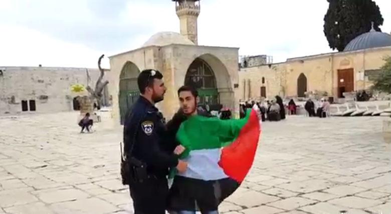 Un Arabe arrêté pour provocation envers un groupe de Juifs sur le mont du Temple
