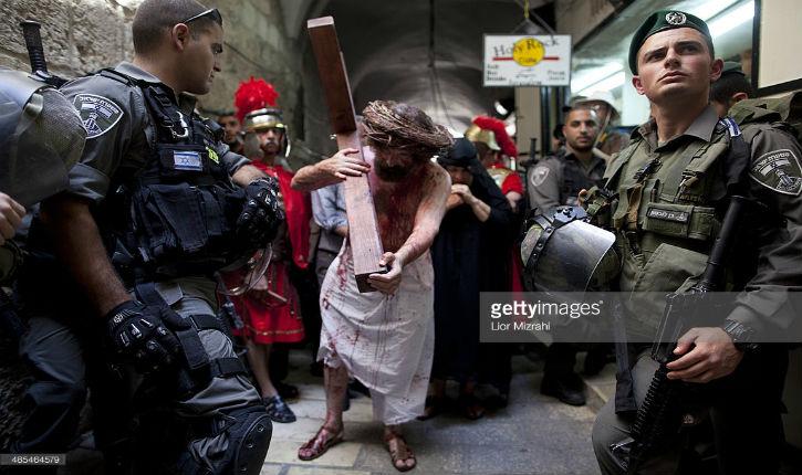 Jérusalem : Les chrétiens célèbrent pâques sous la protection de la police israélienne