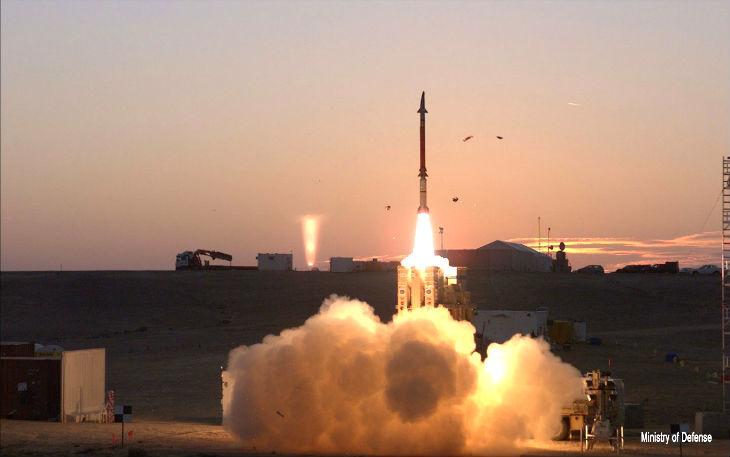 Israël: La Fronde de David, nouveau système anti-missile révolutionnaire, entre en service dans Tsahal