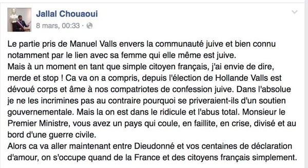 Jallal Chouaoui Facebook