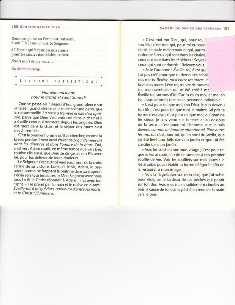 Magnificat page 180