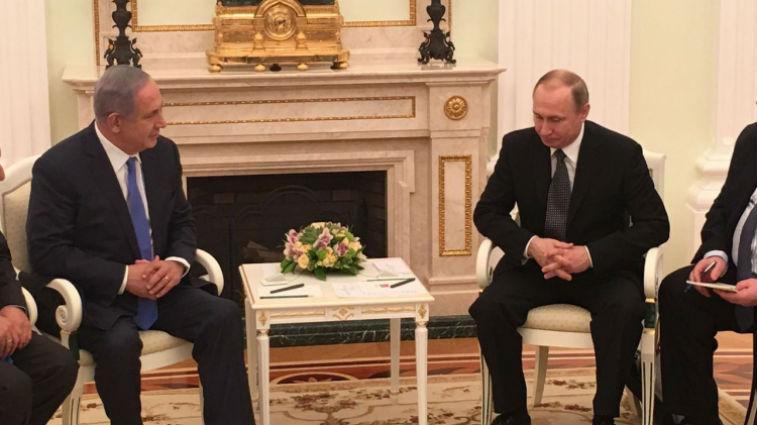 Netanyahou rencontre Poutine pour parler du Golan et des tirs de l'armée russe sur des avions israéliens