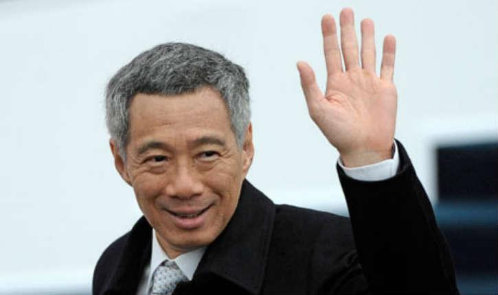 Visite officielle du Premier ministre de Singapour Lee Hsien Loong en Israël