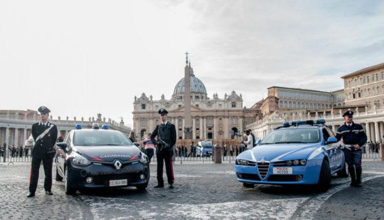 Italie : Trois islamistes projetaient des attentats à Rome et au Vatican