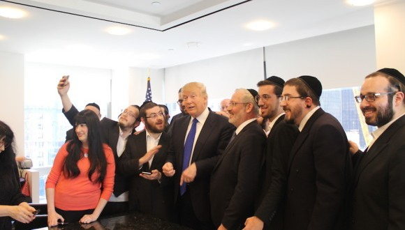 Trump s'entoure de pro-israeliens sur la question du Moyen orient