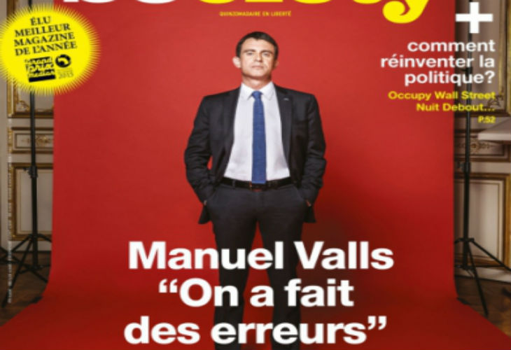 Valls «Ceux qui excluent une victoire du FN en 2017 se trompent. Pourquoi la gauche ne pourrait-elle pas parler d'identité ?»