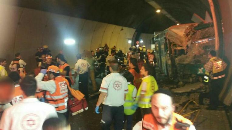 Haïfa : Une jeune fille décédée, au moins 54 blessés dans un accident d'autobus