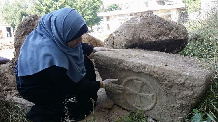 Le Hamas détruit les vestiges d'une église byzantine vieille de 1800 qui vient d'être découverte à Gaza pour effacer l'histoire Chrétienne