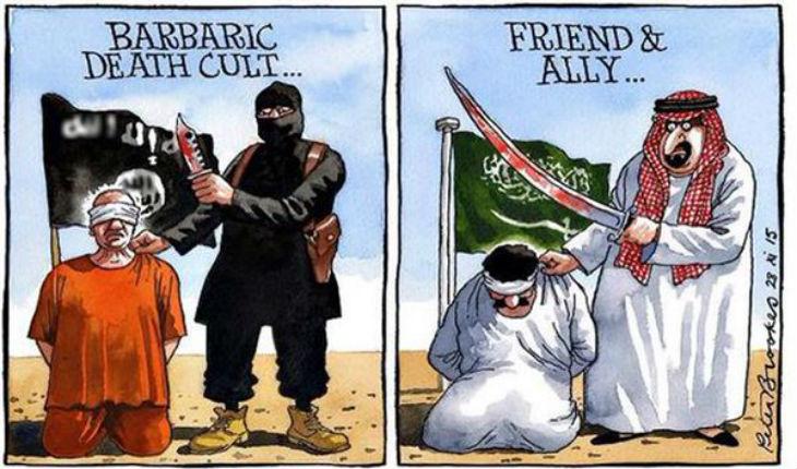 Arabie saoudite : les exécutions devraient doubler cette année pour battre un sanglant record… Ca valait bien une Légion d'Honneur !