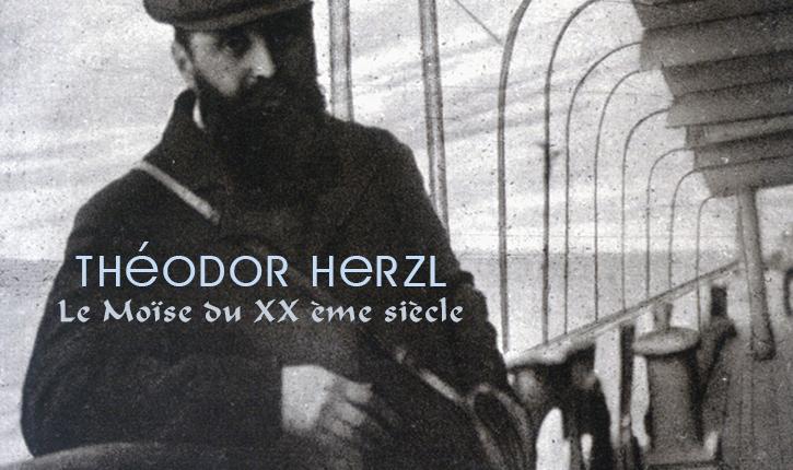 Michael Bar Zvi raconte la vie du concepteur de l'Etat d'Israel : Théodore Herzl