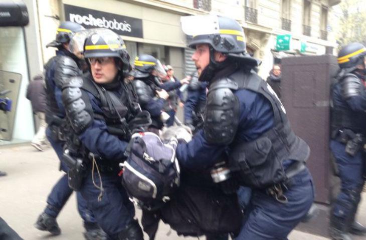 Manifestation anti-loi travail: 24 policiers blessés, 3 grièvement blessés dont 1 entre la vie et la mort, 124 arrestations