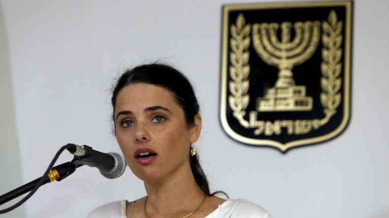 Israël: La ministre de la Justice Ayelet Shaked impose aux tribunaux islamiques d'arborer le drapeau israélien