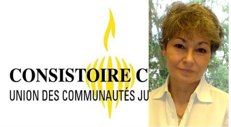 Interview d'Evelyne Gougenheim, première candidate féminine à la présidence du Consistoire Central