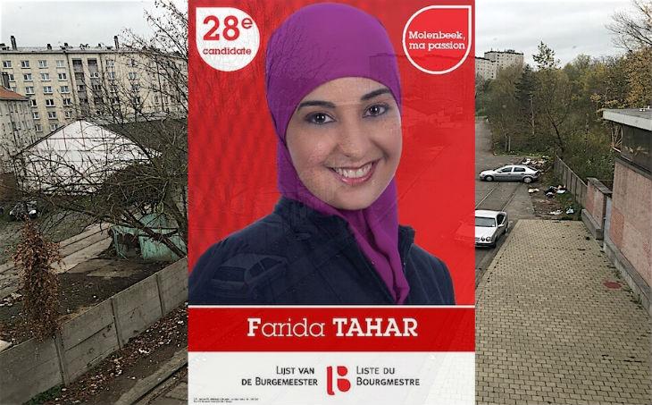 Belgique : Farida Tahar, l'entrisme islamo-salafiste au PS à Molenbeek