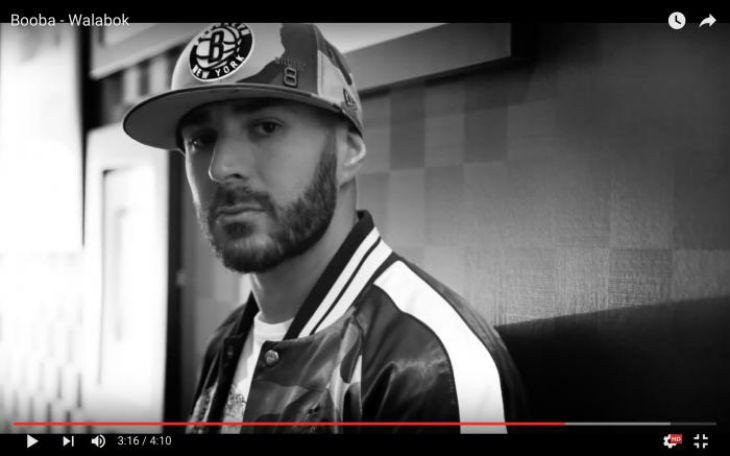 Espagne : Karim Benzema choque dans un clip de Booba avec des armes et de la drogue