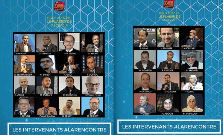 L'invité star de l'UOIF, le prédicateur Omar Abdelkaffy, cumule les déclarations violentes et incitant à la haine. Il pense que juifs, maçons et illuminati dirigent le monde