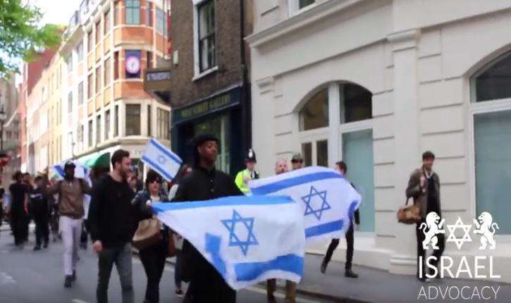 [Vidéo] Londres : Les pro-israéliens ne se laissent plus faire