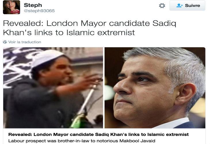 Grande Bretagne : Londres se prépare à voter pour son premier maire musulman jugé proche des islamistes radicaux selon David Cameron