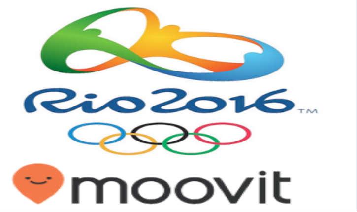 Jeux Olympiques Rio 2016: la société israélienne Moovit a été accréditée comme application officielle de transport public
