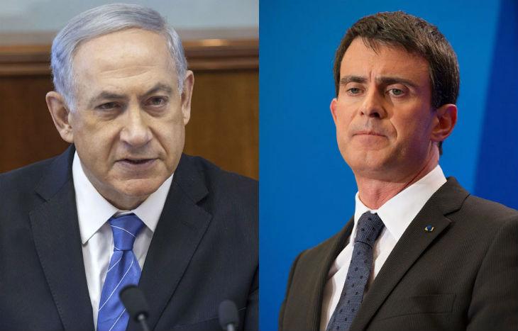 Israël : Echec de Valls, Netanyahu rejette l'initiative française de conférence et propose de rencontrer Mahmoud Abbas en face-à-face
