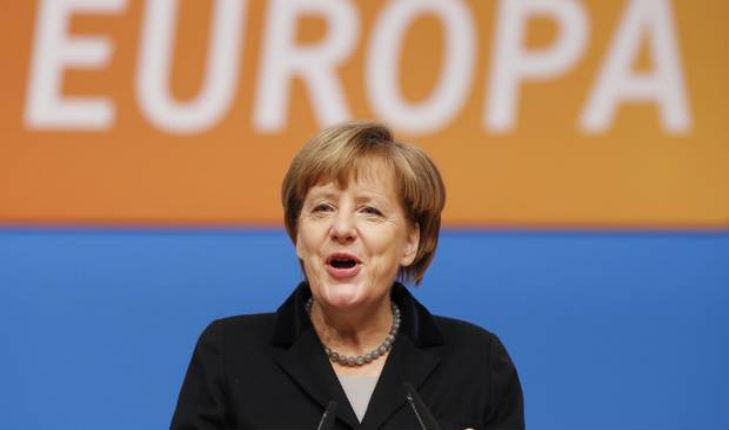 Merkel veut lutter contre la montée du Front national en France