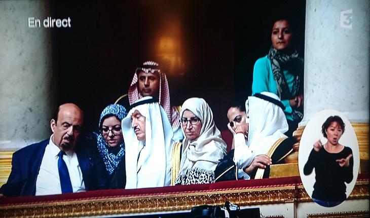 La Charia en visite à l'Assemblée Nationale Française!