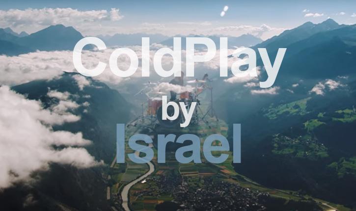 Art: le dernier clip de ColdPlay Up&Up est réalisé par deux israéliens de génie