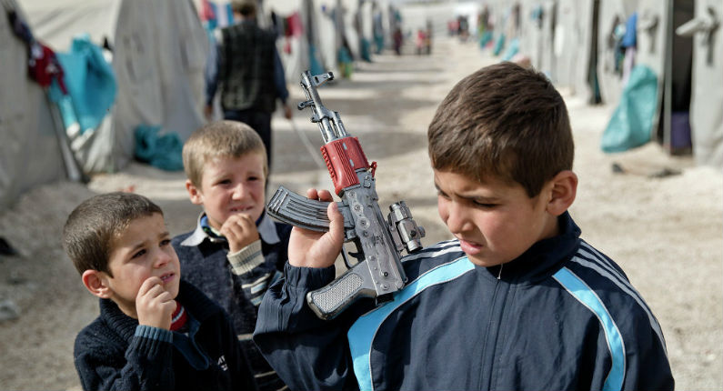 Des enfants violés dans un camp de réfugiés en Turquie