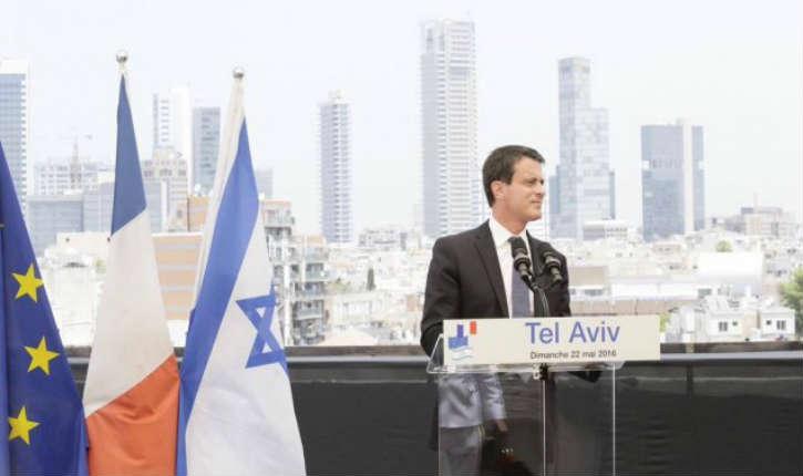 Tel-Aviv: Valls condamne: «derrière ce boycott nous savons bien ce qu'il y a, la détestation de l'Etat d'Israël, et donc des juifs»