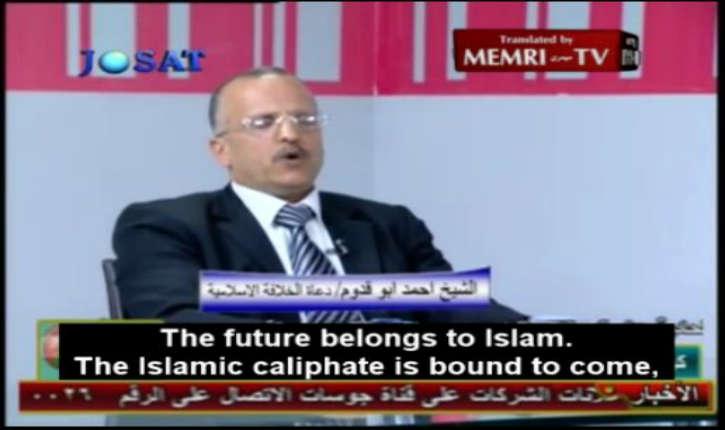 [Vidéo] Jordanie: Le Sheikh Ahmed Abu Quddum «Nous combattrons tout pays qui empêche la propagation de l'islam»