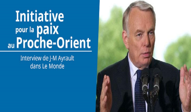 Jean-Marc Ayrault fait du révisionnisme islamiste contre Israël