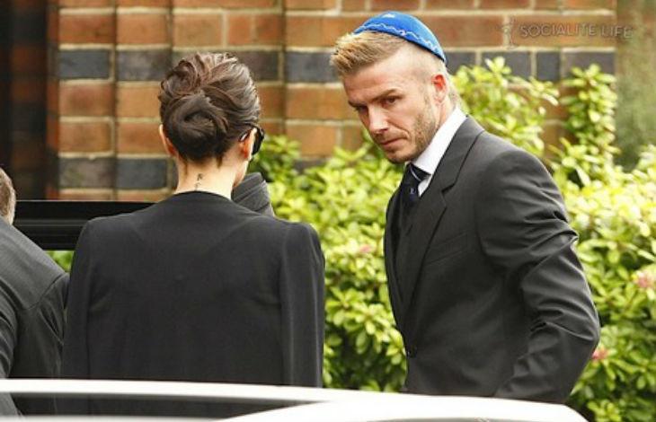 David Beckham « Je n'ai jamais été élevé comme juif, mais mon grand-père l'était, et chaque fois que nous allions à la synagogue, j'en faisais partie »
