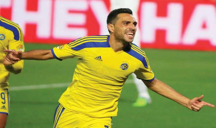 Eran Zahavi, le joueur du Maccabi Tel-Aviv a signé pour le club chinois