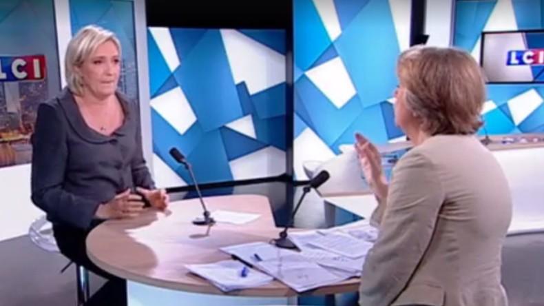 [Vidéo] Marine Le Pen appelle à l'annulation «immédiate» des accords de Schengen