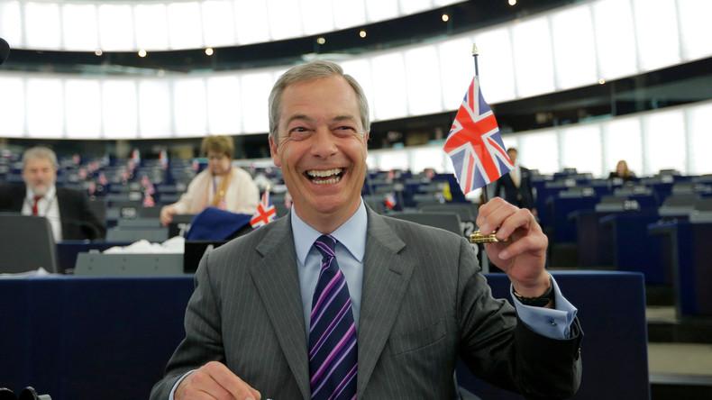 Pour Nigel Farage, Marine Le Pen «renversera» l'UE si elle est élue, et il s'en réjouit