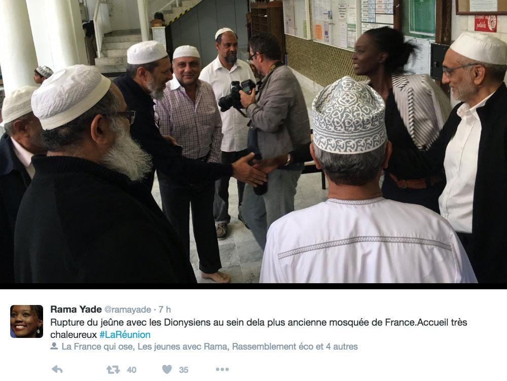 Rama Yade mosquee