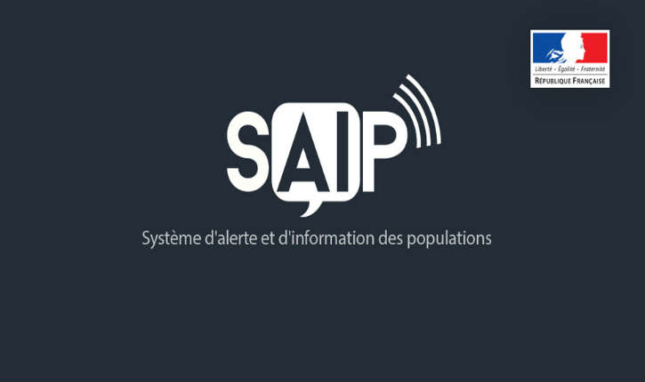 SAIP: l'application mobile d'alerte et d'information des populations sur smartphone
