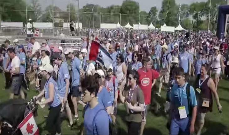 [Vidéo] Toronto: 20.000 personnes ont participé à la Marche de l'UJA en soutien à Israël