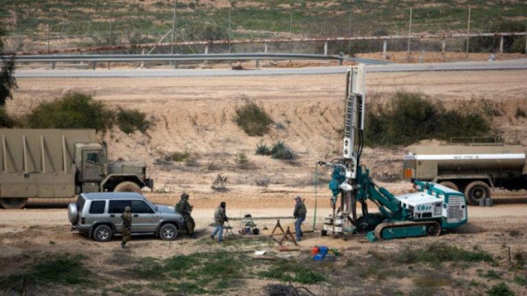 Israël va construire un mur de béton pour empêcher les tunnels du Hamas