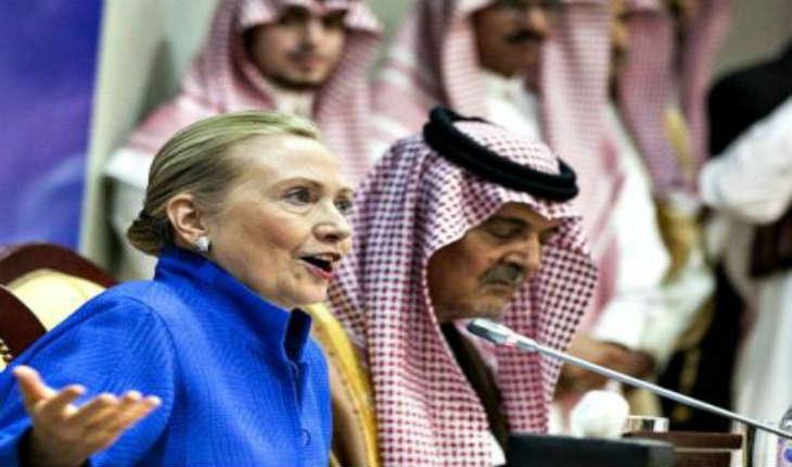 L'Arabie Saoudite a financé plus de 20% de la campagne présidentielle d'Hillary Clinton. 7 autres pays islamistes financent sa campagne
