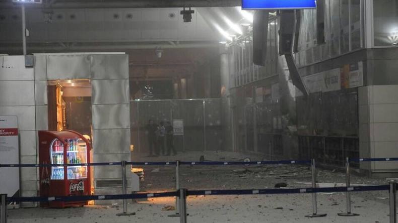 [Vidéo] Attentat islamiste à l'aéroport Ataturk : une vidéo montre un kamikaze touché avant de se faire exploser. Attention images choquantes