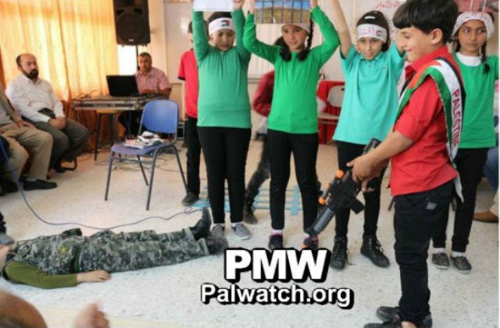 [Vidéo] Quand les écoles palestiniennes enseignent la haine antisémite et le terrorisme islamiste…