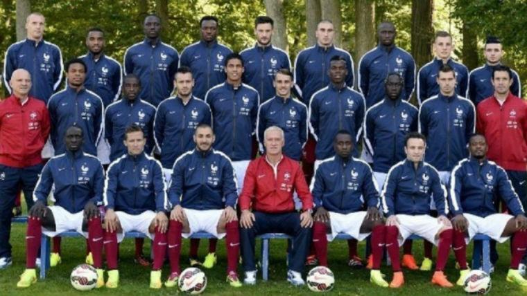 La France raciste ? Voici à quoi ressemble l'équipe de la France «raciste» à l'Euro