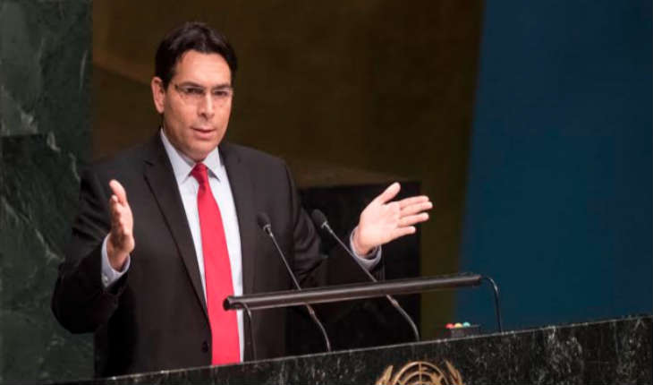 L'ambassadeur israélien à l'ONU Danny Danon: «Mahmoud Abbas a révélé sa vraie couleur à la communauté internationale en rejetant constamment la paix»