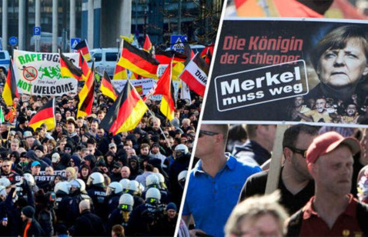 Sondage : 50% des allemands se sentent étrangers dans leur pays, 40% pour une interdiction d'entrée des musulmans