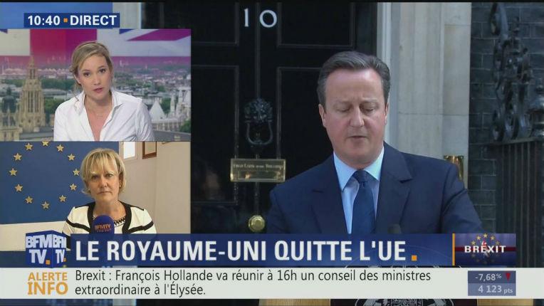 [Vidéo] Brexit : Incroyable aveu d'une présentatrice de BFM qui avoue que les médias français manipulent l'opinion