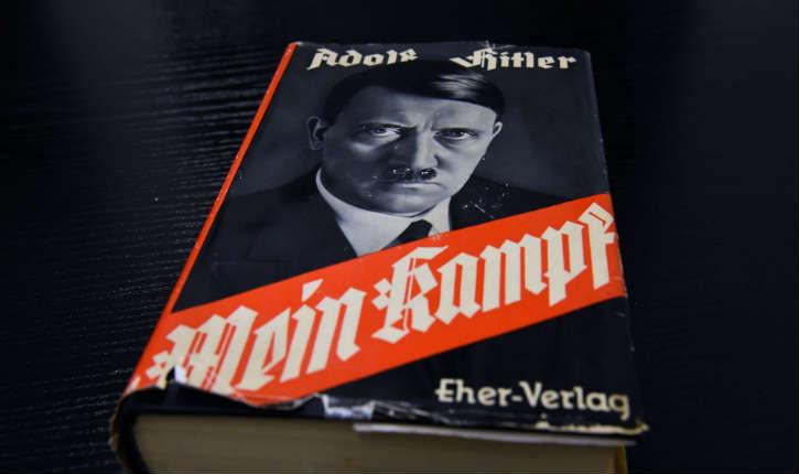 Interdit dans de nombreux pays, «Mein Kampf» va être réédité en France pour la première fois depuis 1934