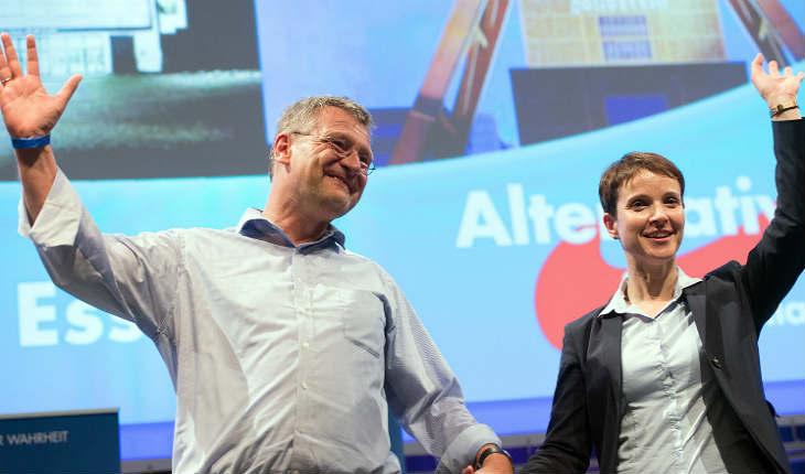 Le parti allemand « Alternative für Deutschland » (AFD) repousse la décision d'expulser un antisémite notoire